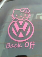 Hello Kitty Car Sticker