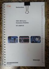Tektronix TDS 200-Series Instructions