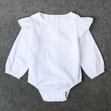 Toddler Newborn Baby Girl Boy Romper Jumpsuit Bodysuit Cotton Clothes Outfit Set