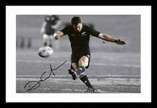 DAN CARTER - NEW ZEALAND ALL BLACKS AUTOGRAPHED SIGNED & FRAMED PP POSTER PHOTO