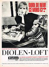 PUBLICITE  1965   DIOLEN-LOFT     le  jersey