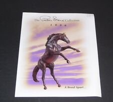 REEVES INTERNATIONAL BREYER HORSE CATALOGUE PETER STONE TOY LEAFLET 1996