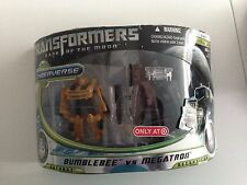 Transformers DOTM Dark of the Moon Cyberverse Megatron Bumblebee TargetExclusive