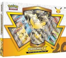 POKEMON CARDS: PIKACHU EX RED & BLUE COLLECTION BOX GENERATIONS BOOSTER PACKS