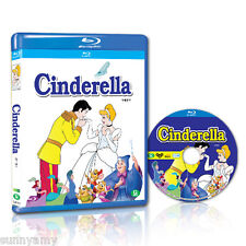 Disney's Classic - Cinderella - Blu ray - Region Free (NEW) Bippity Boppity Boo