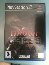MASTER CHESS PS2 SIGILLATO VERSIONE ITALIANA