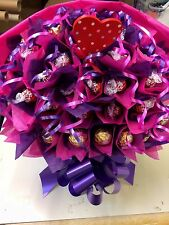 MOTHERS DAY FERRERO ROCHER AND LINDOR SWEET TREE BOUQUET HAND MADE