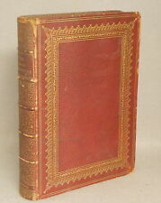 ANTIQUE LEATHER BOUND THE HOME AFFECTIONS POURTRAYED BY THE POETS MacKay 1858