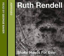 Ruth Rendell - Shake Hands for Ever  (CD-Audio) . FREE UK P+P ..................