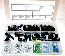 DELPHI WEATHER PACK CONNECTOR STARTER KIT #2  190 PIECES   WEATHERPACK