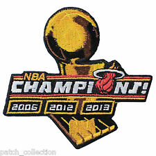 2013 3-Time Miami Heat 3rd NBA Finals Champion Championship Jersey Patch 2012