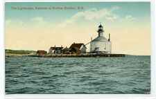 Lighthouse Entrance Halifax Harbour Harbor Nova Scotia Canada postcard