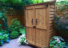 4' x 2' Garden Chalet Cedar Storage Shed  - ON SALE NOW