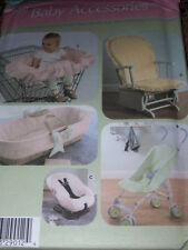 SIMPLICITY #4636 - BABY SHOPPING CART-CARRIER-STROLLER-GLIDER COVER PATTERN  FF
