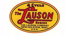 Lauson Gas Engine Motor Decal Hit & Miss TLC RSC Tecumseh Flywheel Antique