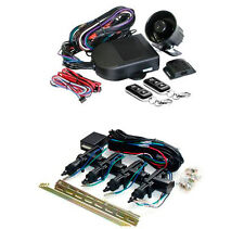 Mongoose Car Alarm M60S+Central Locking MDK4100G Kit,Turbo Timer,2point immob...