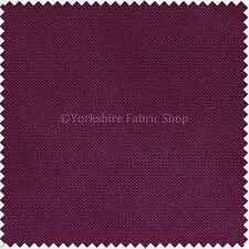 Easy Clean Waterproof Plain Fabric Outdoor Indoor Upholster Curtain Craft Purple