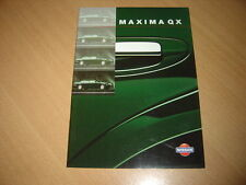 CATALOGUE Nissan Maxima QX de 1998