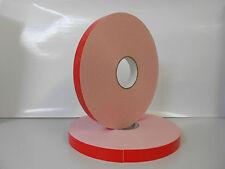 1 Rolle Spiegelklebeband doppelseitiges Klebeband weiß Schaumstoff 19mm x 50m