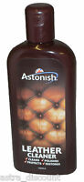 ASTONISH Leather Cleaner cream perfect for sofas 235ml polish restorer car seat