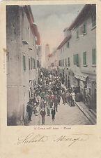 S. Croce Sull'Arno il Corso 1901