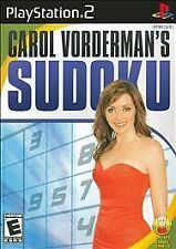 Carol Vorderman's Sudoku (Sony PlayStation 2, 2007)  Rated E  for Everyone