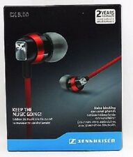 SENNHEISER CX 3.00 RED In-ear Headphones (super sound)