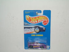 HOT WHEEL `91 BLUE CARD *1993 CAMARO*  #202 MOC