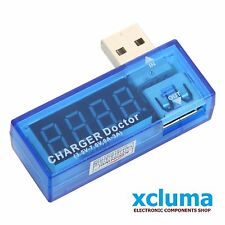 DIGITAL USB MOBILE POWER CHARGING CURRENT VOLTAGE TESTER METER MINI USB BE0317