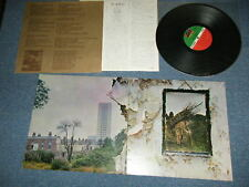LED ZEPPELIN Japan 1971 ORIGINAL P-8166A LP IV 4