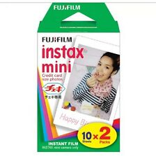 CHEAPEST Fujifilm Instax Plain Film 20 pcs Sheets for Mini 8 7s 25 50s 90