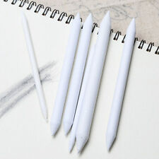6x White Blending Smudge Tortillon Stump Sketch 6 Sizes Art Drawing Tool Pastel