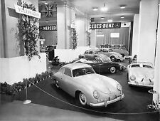 Porsche Exhibit Motor Sports Show 1953 in New York 8 x 10 Photograph
