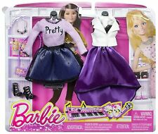 Barbie Fashion Complete Look 2-Pack, Pop Concert Set with  2 Outfits CFY12