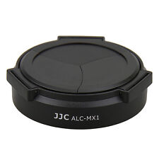 NEW JJC Auto Optional Lens Cap Black for PENTAX MX-1 MX1 Camera Automatic