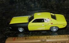 GL 1971 DODGE CHALLENGER PROJECT CAR DIORAMA PROP RUBBER TIRE LIMITED EDITION