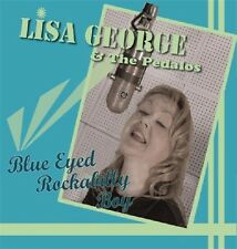 LISA GEORGE Blue Eyed Rockabilly Boy CD - NEW Super Female Rock 'n' Roll
