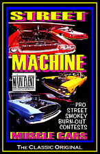 Muscle Cars  STREET MACHINE Experience, A MAIN EVENT ENTERTAINMENT DVD