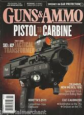 Guns and Ammo magazine SIG ACP Adaptive carbine Beretta DT11 Ear protection