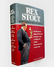 REX STOUT •Seven Complete NERO WOLFE Novels • 1st Combined Volume • Hardcover