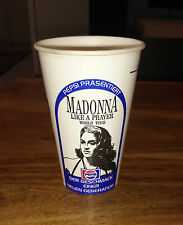 Madonna - Withdrawn Original Pepsi Promo Cup Like a Prayer World Tour RARE!