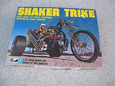 MPC SHAKER Trike 1/12 Scale Model Kit Custom Chopper Brand New VINTAGE 70'S