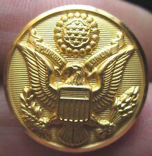 US ARMY Militär Uniform Knopf 2 x Waterbury W 21 Ø 23 mm Wappen E Pluribus Unum