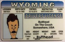 Butt-Head - Beavis and Butt-Head - Drivers License - Novelty