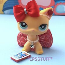 LPS Littlest Pet Shop Clothes Sparkly Skirt Accessories Lot *CAT NOT INCLUDED*