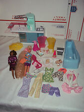 Barbie Doll House Furniture Kitchen Appliances Stove/Oven/Micro/CHAIRS + More
