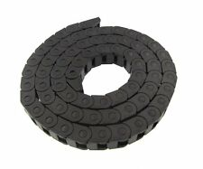 """Small 40"""" Plastic Cable Wire Chain Carrier 10*12.5mm 7/7 for CNC Stepper motor"""