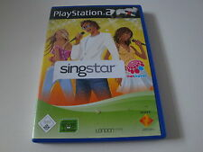 PS2 Spiel SingStar: The Dome