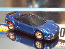 Hot Wheels Special Custom '90 ACURA NSX in Blue with Real Riders new 2016 Car.
