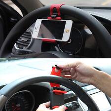 Universal Handy GPS Halter am Lenkrad in Auto Navigationsgerät Stützfußhalterung